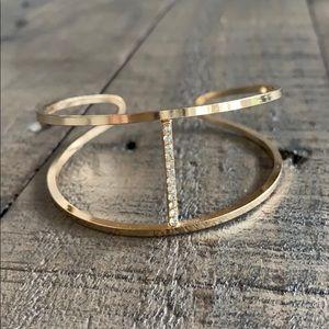 Adjustable gold diamond bracelet✨